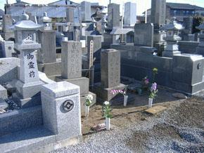 栃木県 足利市 石塔、外柵リフォーム前