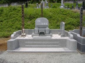 栃木県 足利市 洋型墓石